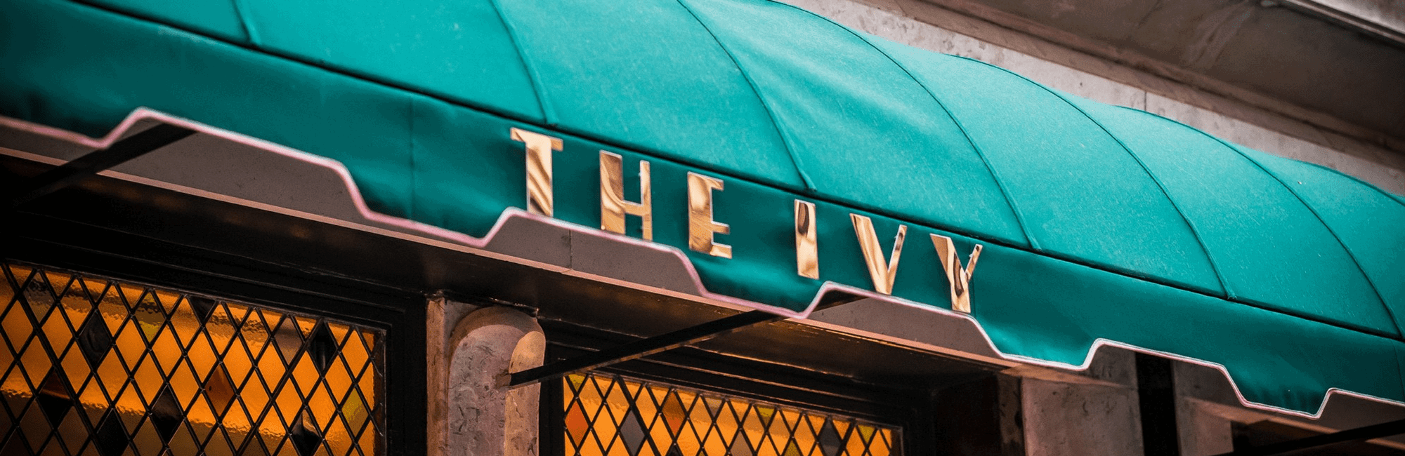 The Ivy restaurant in West Street, Covent Garden, London