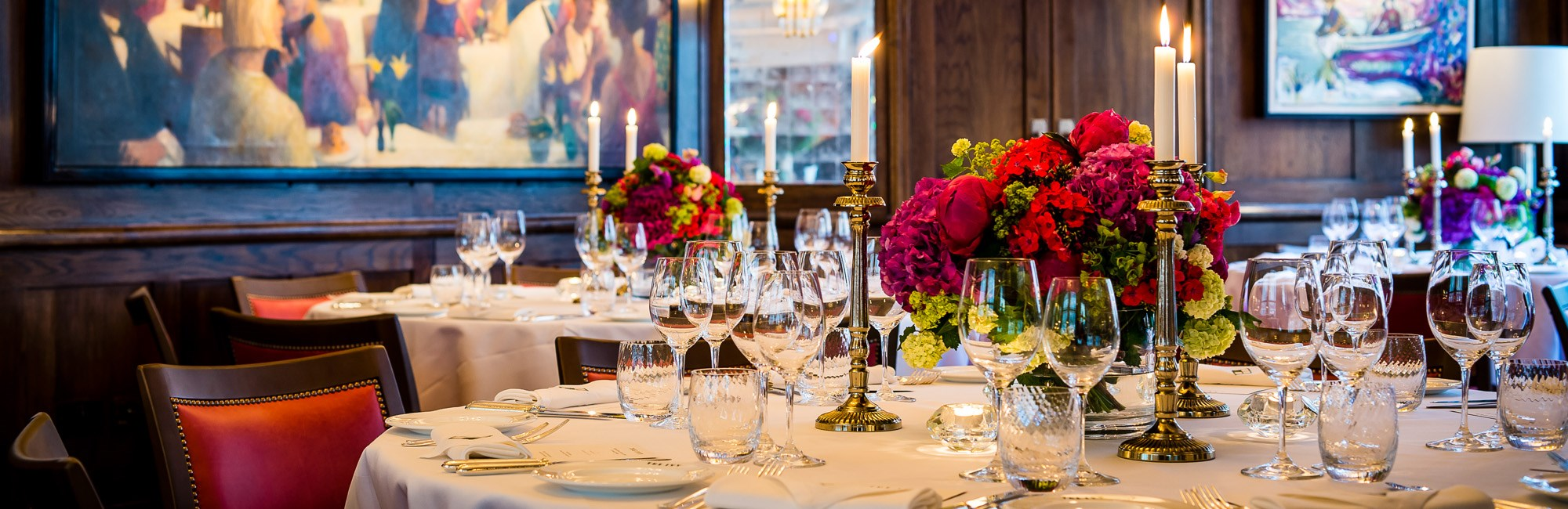 Private dining the ivy covent garden for Best private dining rooms covent garden