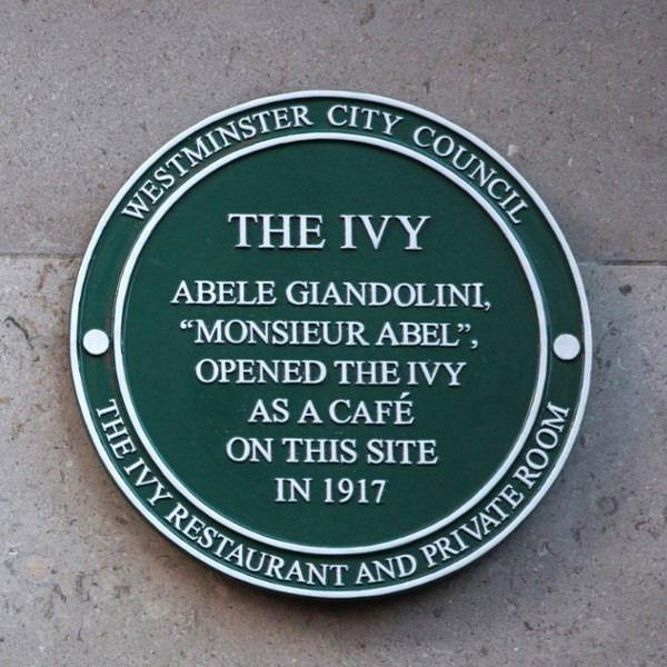 Our History | British Restaurant | The Ivy, Covent Garden