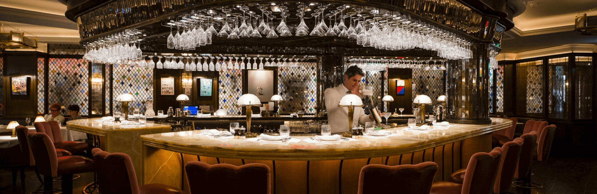 The Ivy welcomes customers without reservations at the central dining bar