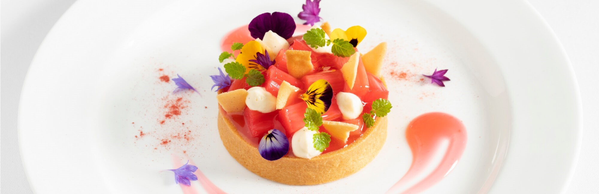 the ivy rhubarb custard tart 3 1